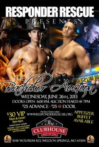 Bachelor Auction to benefit Responder Rescue