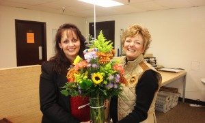 Kathy Hutsler was nominated by her husband Patrick and flowers were delivered by Always in Bloom